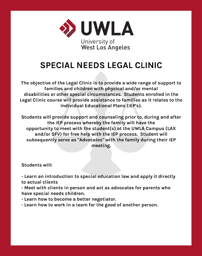 Significant Special Education Legal >> Special Needs Legal Clinic